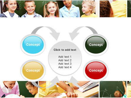 Primary School Kids PowerPoint Template Slide 6