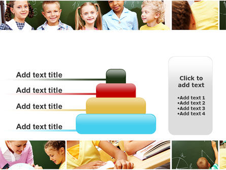 Primary School Kids PowerPoint Template Slide 8