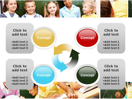 Primary School Kids PowerPoint Template Slide 9