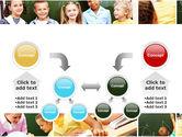 Primary School Kids PowerPoint Template#19
