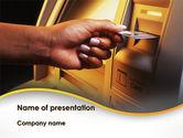 Financial/Accounting: Modèle PowerPoint de cashpoint #09589