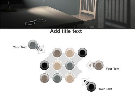 Interrogation Cell PowerPoint Template Slide 10