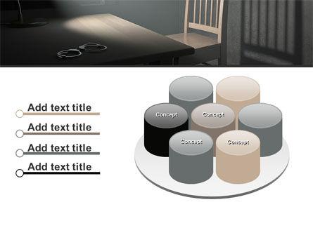 Interrogation Cell PowerPoint Template Slide 12