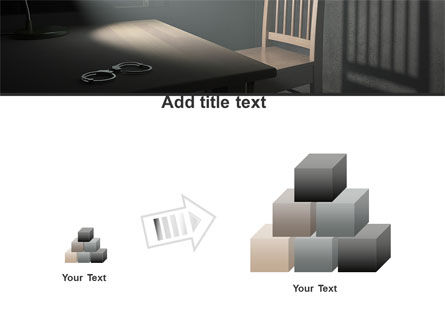 Interrogation Cell PowerPoint Template Slide 13