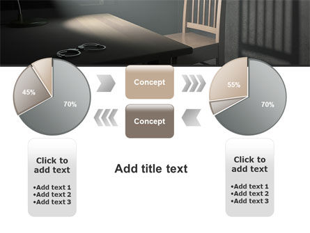 Interrogation Cell PowerPoint Template Slide 16