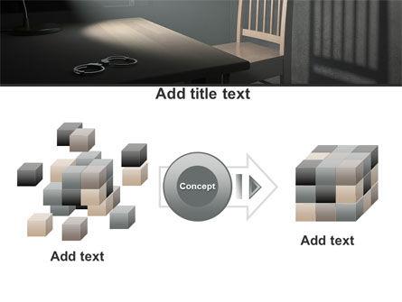 Interrogation Cell PowerPoint Template Slide 17
