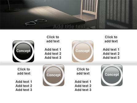 Interrogation Cell PowerPoint Template Slide 18