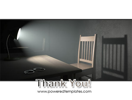 Interrogation Cell PowerPoint Template Slide 20
