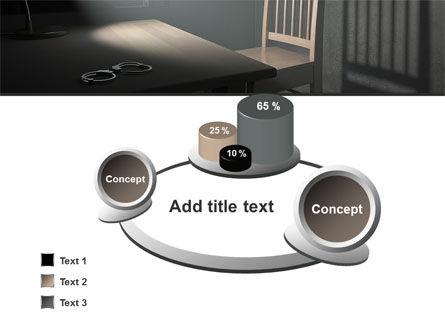 Interrogation Cell PowerPoint Template Slide 6