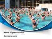 Health and Recreation: Sanatorium PowerPoint Template #09591
