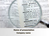 Business: Success As Is PowerPoint Template #09592
