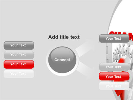 Make A Change PowerPoint Template Slide 14