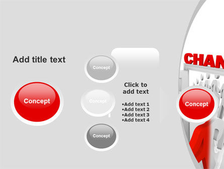Make A Change PowerPoint Template Slide 17