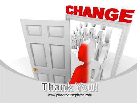 Make A Change PowerPoint Template Slide 20