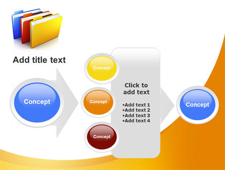 Document Cases PowerPoint Template Slide 17