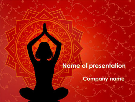 Meditation yoga powerpoint template backgrounds 09595 meditation yoga powerpoint template 09595 health and recreation poweredtemplate toneelgroepblik