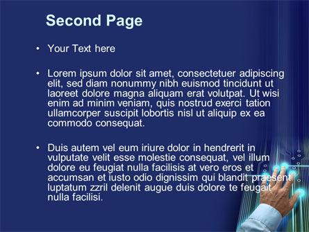 High Tech Management Tool PowerPoint Template, Slide 2, 09596, Technology and Science — PoweredTemplate.com