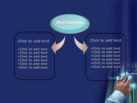 High Tech Management Tool PowerPoint Template, Slide 4, 09596, Technology and Science — PoweredTemplate.com