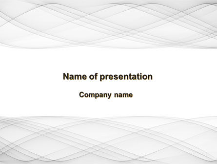 Spiral Ornament PowerPoint Template