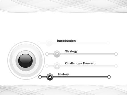 Spiral Ornament PowerPoint Template Slide 3