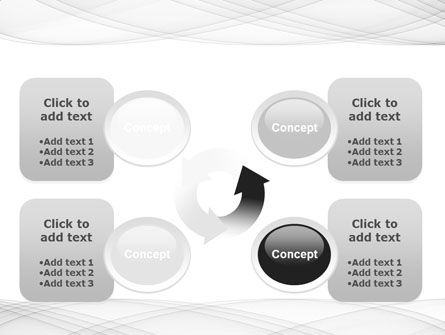 Spiral Ornament PowerPoint Template Slide 9