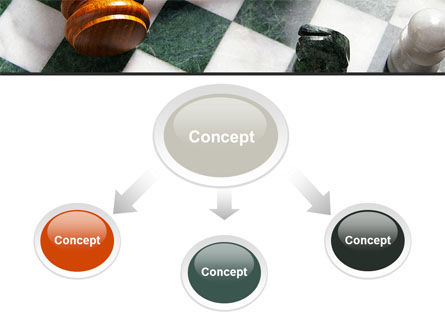 Gavel PowerPoint Template, Slide 4, 09599, Legal — PoweredTemplate.com