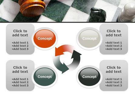 Gavel PowerPoint Template Slide 9