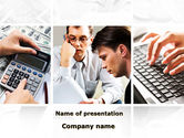 Computers: Accountant Job PowerPoint Template #09601