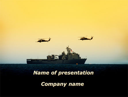 Military: Ons Schip Tortuga PowerPoint Template #09604