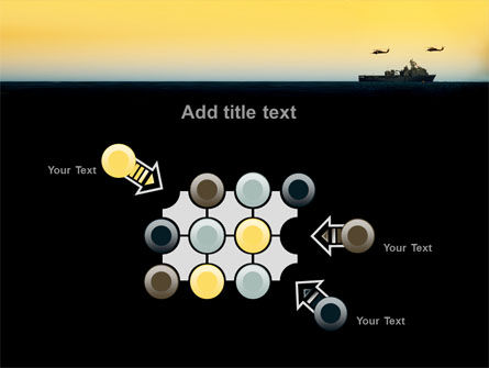 US Ship Tortuga PowerPoint Template Slide 10
