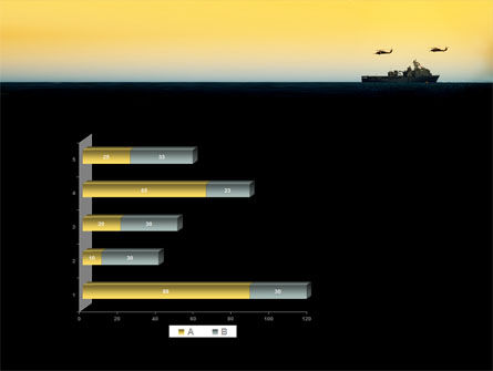 US Ship Tortuga PowerPoint Template Slide 11