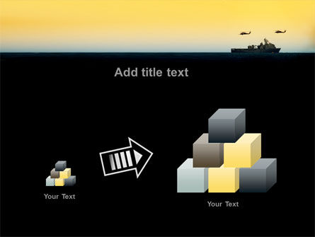 US Ship Tortuga PowerPoint Template Slide 13