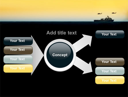 US Ship Tortuga PowerPoint Template Slide 15