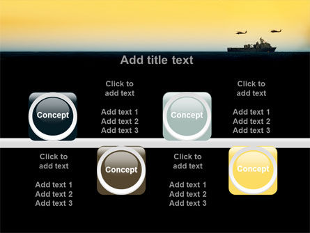 US Ship Tortuga PowerPoint Template Slide 18