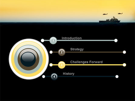 US Ship Tortuga PowerPoint Template, Slide 3, 09604, Military — PoweredTemplate.com