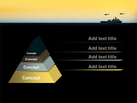 US Ship Tortuga PowerPoint Template, Slide 4, 09604, Military — PoweredTemplate.com