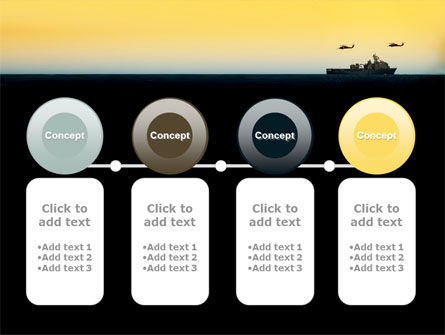 US Ship Tortuga PowerPoint Template Slide 5