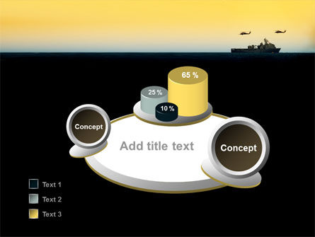 US Ship Tortuga PowerPoint Template Slide 6