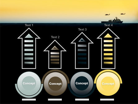US Ship Tortuga PowerPoint Template Slide 7