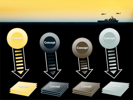 US Ship Tortuga PowerPoint Template Slide 8