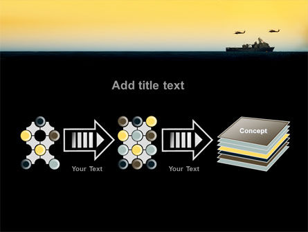US Ship Tortuga PowerPoint Template Slide 9
