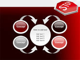 Stop Road Sign PowerPoint Template#6
