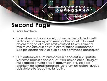 Pointers And Arrows PowerPoint Template, Slide 2, 09607, Telecommunication — PoweredTemplate.com