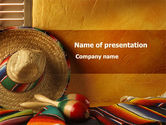 Flags/International: Tour To Mexico PowerPoint Template #09608