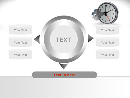Key To Time Management PowerPoint Template Slide 12