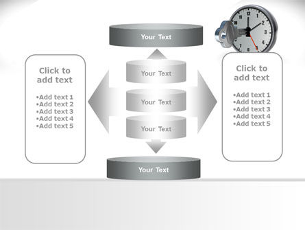Key To Time Management PowerPoint Template Slide 13
