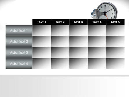 Key To Time Management PowerPoint Template Slide 15