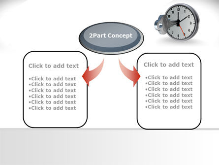 Key To Time Management PowerPoint Template, Slide 4, 09609, Business Concepts — PoweredTemplate.com
