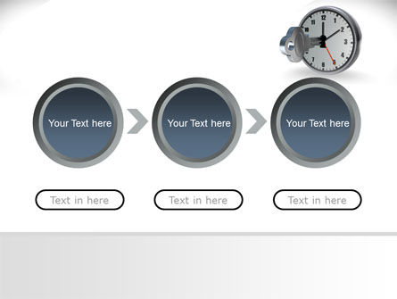 Key To Time Management PowerPoint Template Slide 5