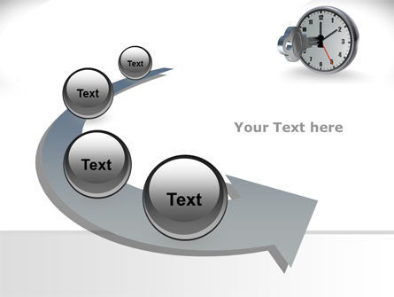 Key To Time Management PowerPoint Template Slide 6